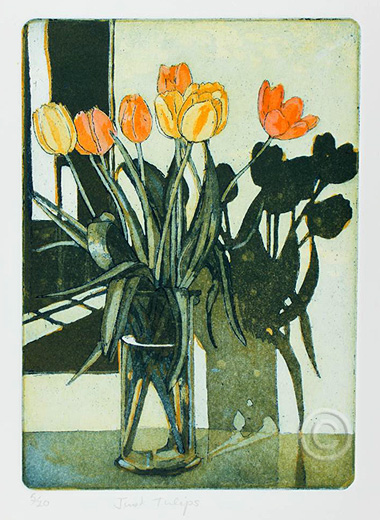 SGFA Journal - Just Tulips by Ruth de Monchaux - 2